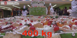 Mega Cassata di 400 kg