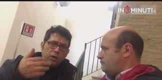 Al microfono di Danilo Verruso Davide Camarrone, Giornalista RAI, e il Sindaco Ida Carmina.