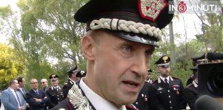 Generale di Brigata Riccardo Galletta, Comandante Carabinieri Legione Sicilia: