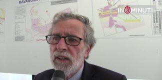 Presidente Vincenzo Lotà subito dopo la fine dell'assemblea. Di Camillo Bosio