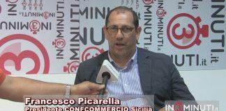 Confcommercio Sicilia: Francesco Picarella nuovo presidente, subentra al dimissionario Pietro Agen, che ha lasciato la guida nel luglio 2017.