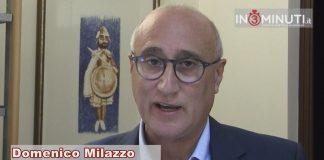 Domenico Milazzo, segretario Cisl Sicilia, al microfono di Danilo Verruso.
