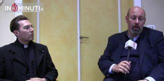 Camillo Bosio, Don Luca Camilleri e Don Maurizio Mangione, parroci delle parrocchie del Villaggio Mosè: Santa Rosa da Viterbo e Cuore Immacolato di Maria
