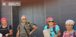 Via Francigena di Sicilia, peggrini all'arrivo ad Agrigento