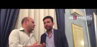 Giuseppe Todaro, consigliere comunale empedoclino, promotore del Consiglio aperto, al microfono di Danilo Verruso