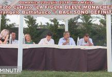 Ieri, domenica 22 luglio, Villa Majisa, Totò Cuffaro e Pietrangelo Buttafuoco hanno incontrato il pubblico agrigentino per parlare dei loro libri: LA FIGLIA DELLE MONACHE e I BACI SONO DEFINITIVI. Momenti della serata
