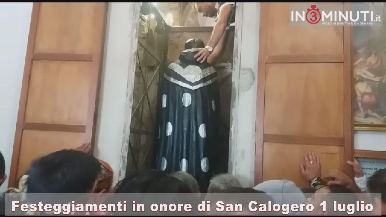 1 luglio 2018, Festeggiamenti in onore, San Calogero,