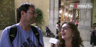 Mauricio Uribe, Direttore dell'Istituto del Patrimonio Culturale di Bogotà al microfono di Roberta Zicari.