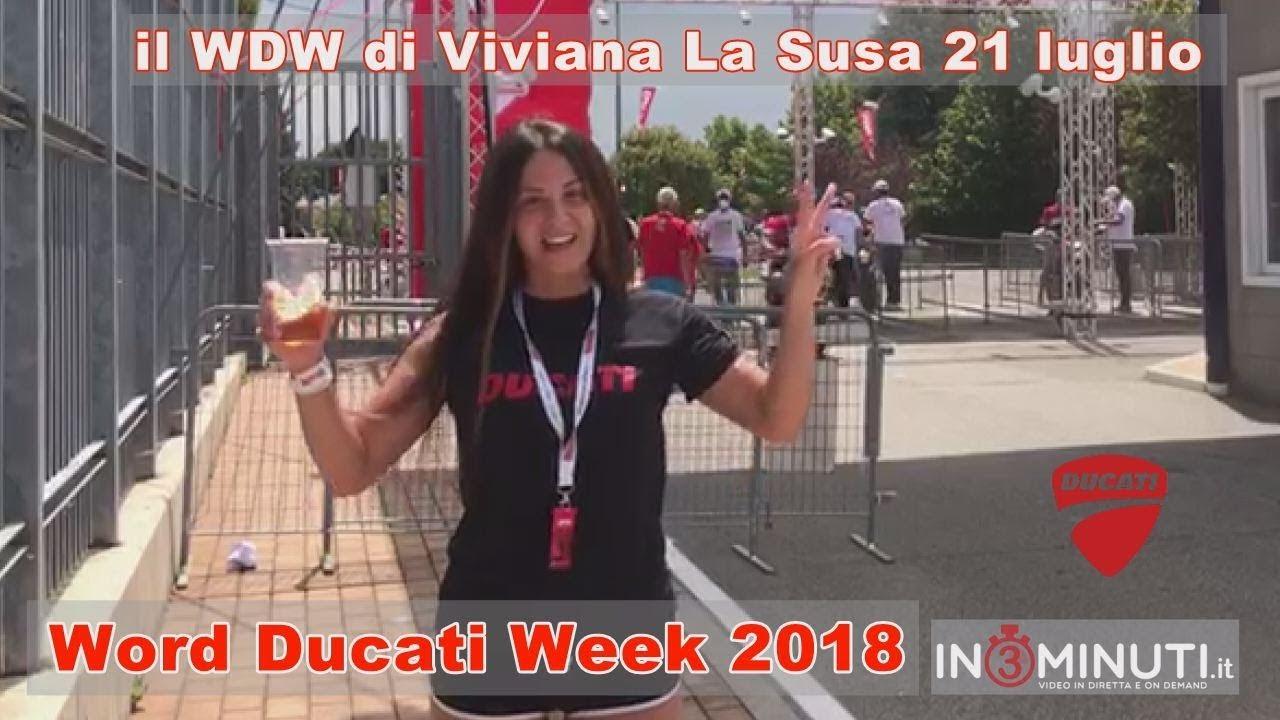 WDW di Viviana La Susa e la sua Ducati ogni giorno su in3minuti.it
