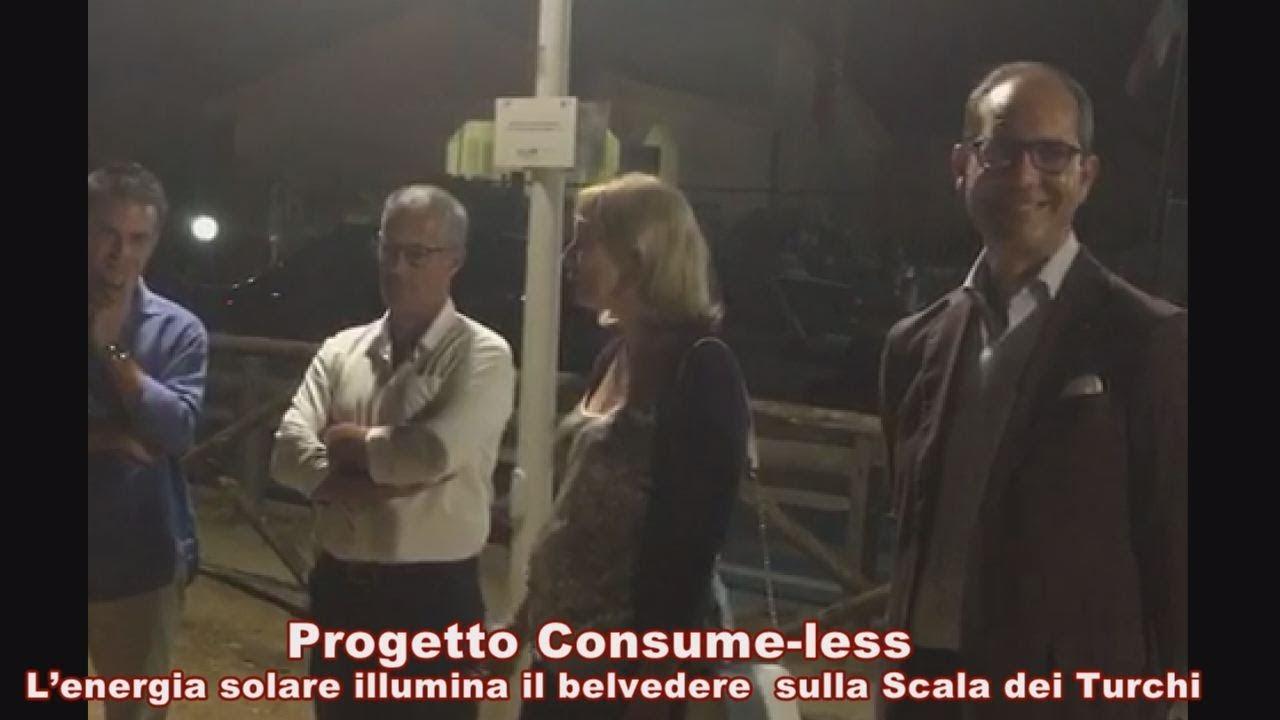 Consume-less, energia solare, belvedere, Scala dei Turchi, Dirigente Generale, Ass Reg Turismo, Lucia Di Fatta, SindacoRealmonte, Calogero Zicari, Presidente Regionale, Fai, Giusppe Taibi