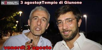 Gaetano Aronica, venerdì 3 agosto, Tempio di Giunone, ore 21,