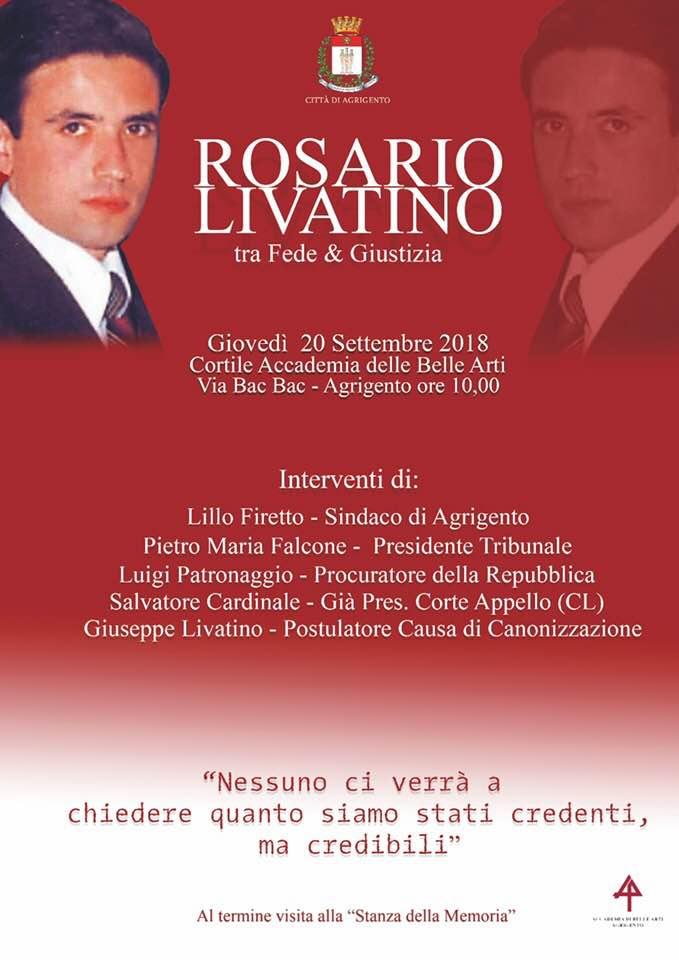 tra Fede & Giustizia, Rosario Livatino