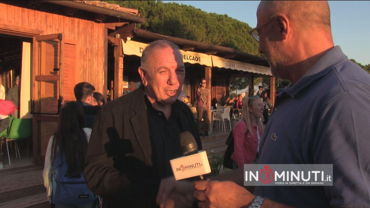 """""""Donare Bellezza"""" incontro con Antonio Presti, il Mecenate Siciliano ideatore e creatore della Fiumara d'Arte."""