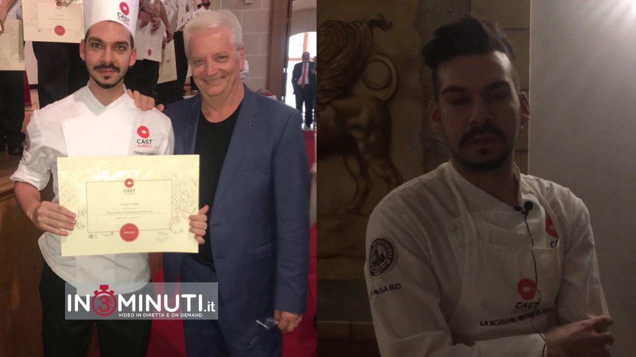 Iginio Massari, Calogero Latino, pasticcere, CAST Scuola Alimenti,