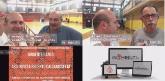 Girgenti Giants Vs Invicta 93cento, 21/10/2018