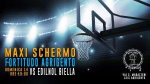 Edilnol Pallacanestro Biella M Rinnovabili Agrigento
