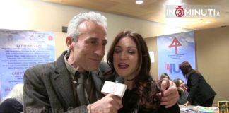 Kaos, festival dell'editoria e dell'identità siciliana, Barbara Capucci premiata da Gaetano Aronica