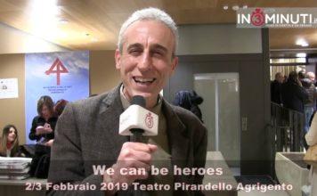 We can be heroes di Gaetano Aronica, 2-3 febbraio Teatro Pirandello