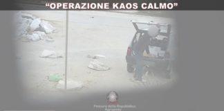 """""""Operazione Kaos Calmo"""", blitz a Porto Empedocle, individuate 20 persone, sequestrati 3 automezzi"""