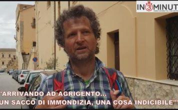 """ARRIVANDO AD AGRIGENTO…UN SACCO DI IMMONDIZIA, UNA COSA INDICIBILE"""""""