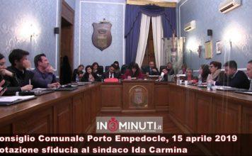 Bocciata la sfiducia al sindaco di Porto Empedocle Ida Carmina, MOZIONE NON APPROVATA