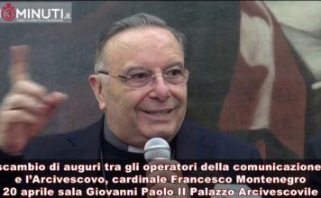 Scambio di auguri con l'Arcivescovo, cardinale Francesco Montenegro