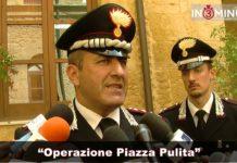 """Operazione """"PIAZZA PULITA"""", Giovanni Pellegrino, Comandante provinciale dei carabinieri"""