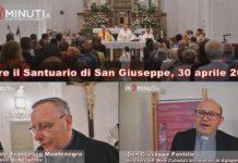 Dopo 19 anni riapre il Santuario di San Giuseppe, 30 aprile 2019, Montenegro e Pontillo