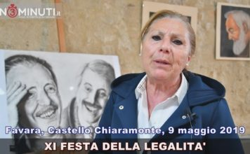 Favara, Castello Chiaramonte, FESTA DELLA LEGALITA', Etta Milioto
