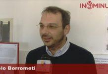 Paolo Borrometi, giornalista sotto scorta dall'agosto del 2014, oggi a Favara