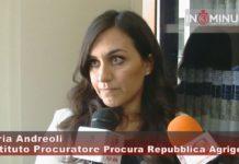 BOVO MARINA, ascoltiamo Gloria Andreoli, Sostituto Procuratore Procura Repubblica Agrigento. Video