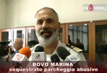 BOVO MARINA sequestrato parcheggio abusivo Gennaro Fusco