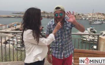 Arisotele Cuffaro a Lampedusa ci parla del premio… Martoglio che si svolge a Grotte!