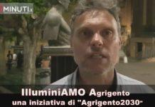 """illuminiamo agrigento, una iniziativa di """"agrigento2030"""", Andrea Barbera VIDEO"""