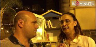 Bibliocabina a Porto Empedocle, Angela Roberto presidente Archeoclub Agrigento 📹VIDEO