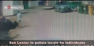 San Leone, la polizia locale ha individuato ieri sera, 1 agosto, 3 ambulanti 📹VIDEO