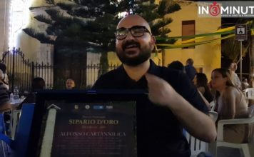 """Premio Nazionale """"Sipario d'oro 2019"""" ad Alfonso Cartannilica SATIRA AGRIGENTINA"""