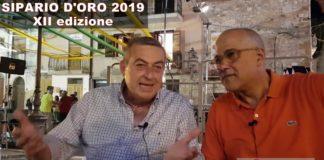 SIPARIO D'ORO 2019, XII edizione, Lelio Castaldo Direttore SICILIA24H al microfono di Camillo Bosio