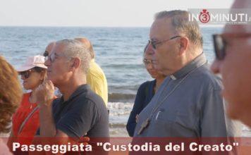 """Passeggiata """"Custodia del Creato"""" alla Scala dei Turchi 📹VIDEO"""