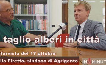 TAGLIO ALBERI IN CITTA', ne abbiamo parlato con il sindaco Lillo Firetto 📹VIDEO