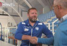 Fortitudo, chiacchierata con coach Devis Cagnardi a cui abbiamo girato domande di Salvo Trifirò📹