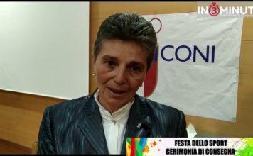 Festa dello Sport 2019, Antonella Attanasio delegato CONI e Alfio Russo preside Anna Frank 📹VIDEO