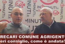 Precari Comune Agrigento, ieri consiglio comunale, come è andata? 📹 Ascoltiamo Marco Vullo VIDEO